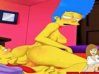 Cartoon Porn Simpsons Porn Stepmom Have Fun With Son